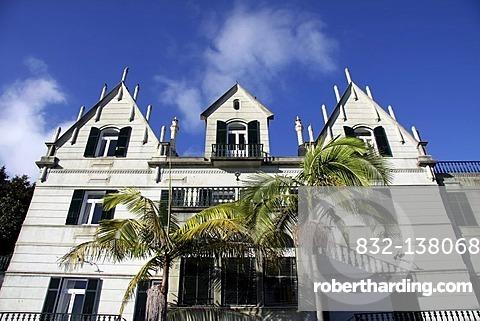 Palace, Tropical Garden, Tropical Garden, Jardim Tropical Monte Palace, Jose Bernardo Foundation, Funchal, Madeira, Portugal, Europe