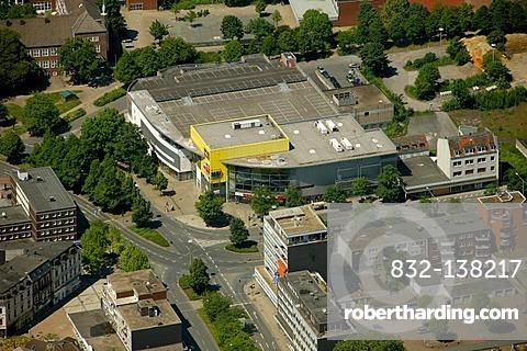 Aerial view, Herten, Ruhrgebiet area, North Rhine-Westphalia, Germany, Europe
