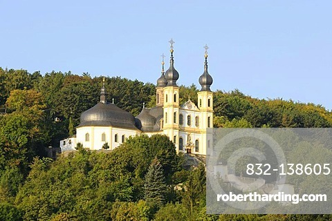 Pilgrimage church, St. Maria Chapel, Wuerzburg, Bavaria, Germany, Europe
