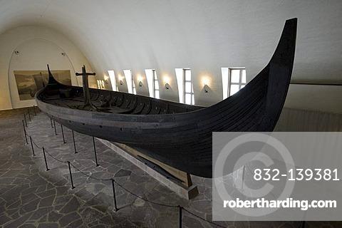 Gokstad ship, Viking Ship Museum, Oslo, Norway, Europe