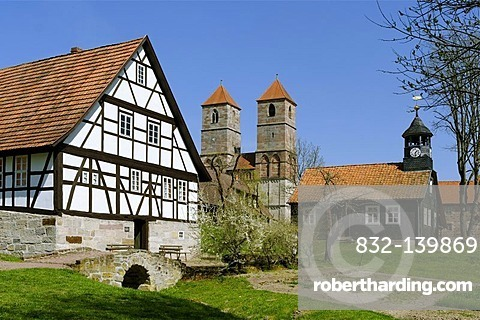 Museum of Henneberg, Kloster Vessra, Thuringia, Germany, Europe