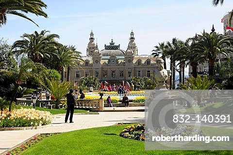 Casino Monte Carlo, Principality of Monaco, Europe