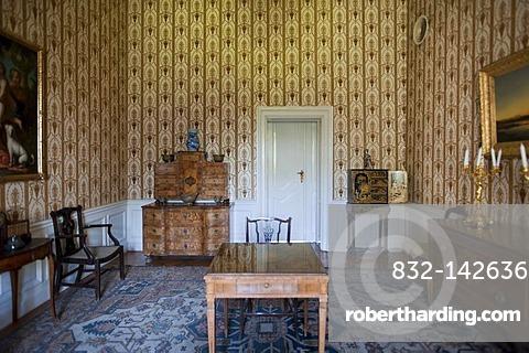 Interior, Baroque castle, Festetics kasteely, Keszthely, Hungary, Europe