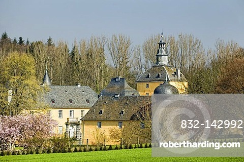 Gudenau Castle in Wachtberg, Rhineland-Palatinate, Germany, Europe