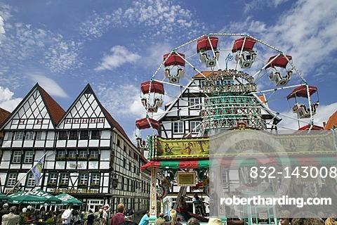 Town festival in Soest, North Rhine-Westphalia, Germany, Europe