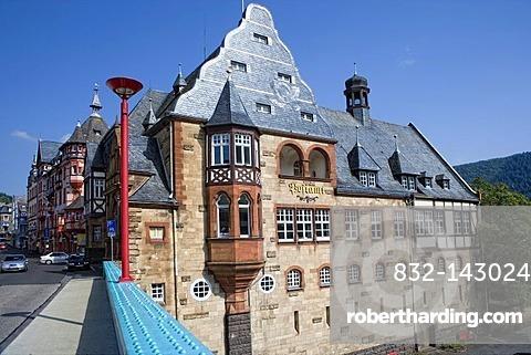 Hotel zur Post, Winzereck, Traben, Traben-Trarbach, Rhineland-Palatinate, Germany, Europe