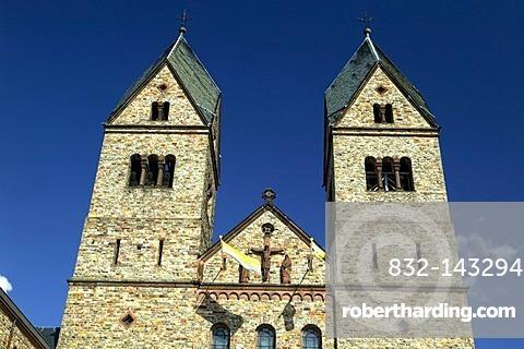 Benedictine Abbey of St. Hildegard, near Ruedesheim, founded by Hildegard von Bingen, Rhineland-Palatinate, Germany, Europe