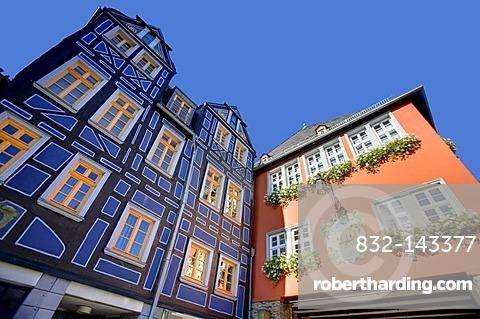 Houses, Idstein, Rheingau-Taunus-Kreis district, Hesse, Germany, Europe