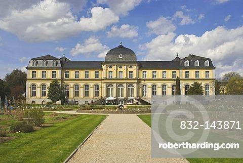 Poppelsdorfer Schloss castle, Baroque, Bonn, North Rhine-Westphalia, Germany, Europe