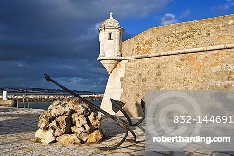 Fortress Fortaleza Ponta da Bandeira, Lagos, Algarve, Portugal, Europe
