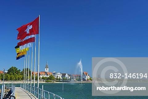 Port of Friedrichshafen, Lake Constance, Baden-Wuerttemberg, Germany, Europe