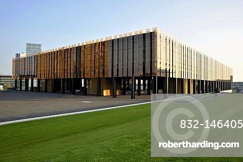 European Court of Justice, Boulevard Konrad Adenauer street, Kirchberg district, city of Luxembourg, Europe
