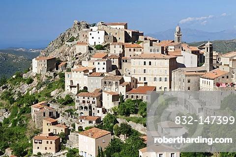 Speloncato, Balagne, Corsica, France, Europe