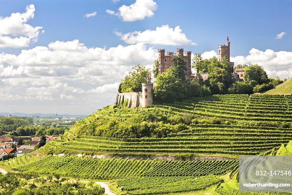 Ortenberg Castle, near Offenburg, Black Forest, Baden-Wuerttemberg, Germany, Europe