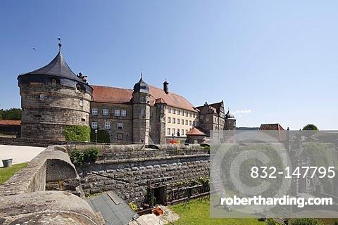 Rosenberg Fortress, Kronach, Upper Franconia, Franconia, Bavaria, Germany, Europe