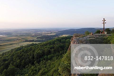 Staffelberg mountain, Bad Staffelstein, Franconian Switzerland, Franconian Alb, Upper Franconia, Franconia, Bavaria, Germany, Europe