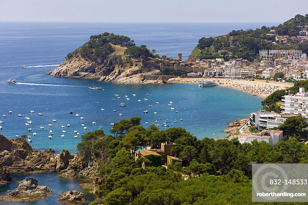 Tossa de Mar, Costa Brava, Spain, Europe
