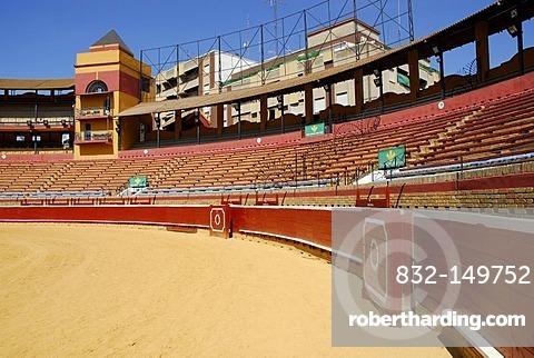 Bullring Plaza de Toros La Merced in Huelva, Costa de la Luz, Huelva, Andalusia, Andalucia, Spain, Europe
