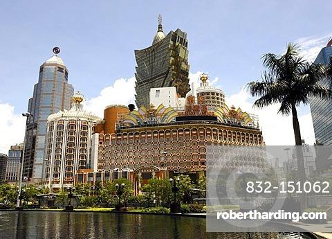Hotel and Casino Lisboa in Macau, China, Asia