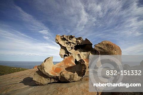 Remarkable Rocks, rock formations in Flinders Chase National Park on Kangaroo Island, South Australia, Australia