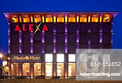 Alexa Shopping Center Alexanderplatz Square Stock Photo