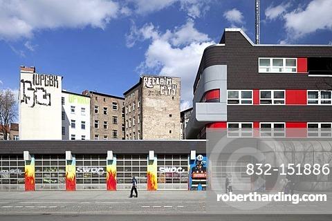 Kreuzberg Fire Station, Kreuzberg, Berlin, Germany, Europe