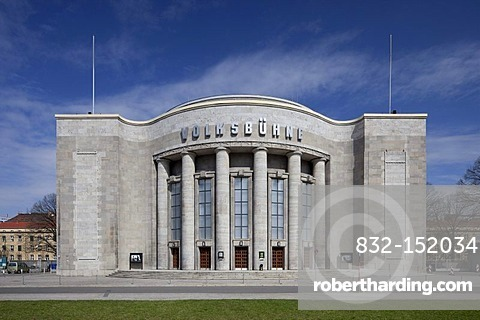 Volksbuehne Theatre on Rosa Luxemburg Square, Berlin-Mitte, Berlin, Germany, Europe