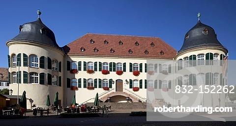 Castle, Bad Bergzabern, Southern Wine Route, Rhineland-Palatinate, Germany, Europe