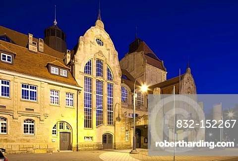 Art Noveau festival hall, Landau in der Pfalz, Southern Wine Route, Rhineland-Palatinate, Germany, Europe