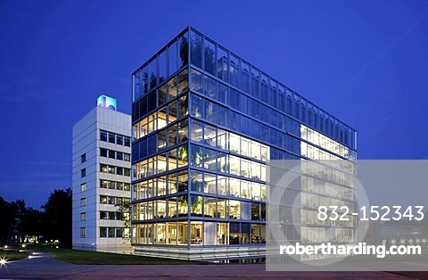Headquarters of Gelsenwasser utilities company, Gelsenkirchen, Ruhr Area, North Rhine-Westphalia, Germany, Europe