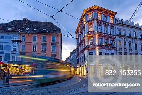 City centre, Graz, Styria, Austria, Europe