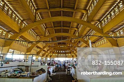 Central Market, Phnom Penh, Cambodia, Southeast Asia, Asia
