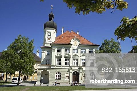 Town hall, Altoetting, Bavaria, Germany, Europe