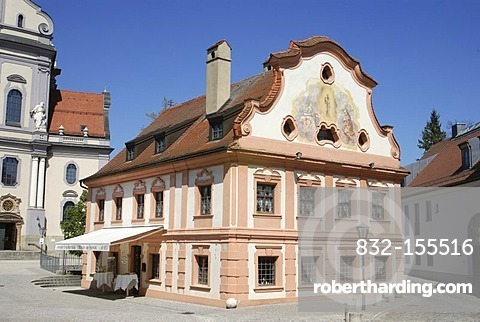 Former Franciscan house, Altoetting, Bavaria, Germany, Europe