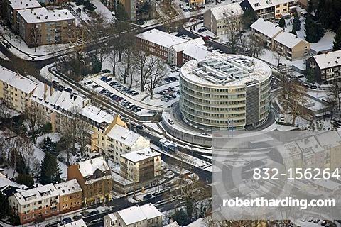 Aerial photo, LEG office building, Hoerde, Dortmund, Ruhr area, North Rhine-Westphalia, Germany, Europe