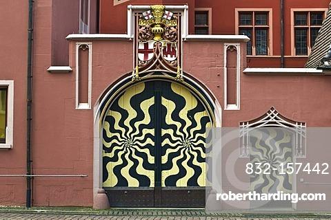 Das Haus zum Walfisch historical building, Freiburg, Baden-Wuerttemberg, Germany, Europe