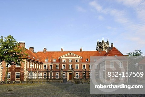 Bishop's court, Muenster, North Rhine-Westphalia, Germany, Europe