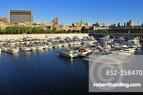 Vieux Port, Harbour of Montreal, Quebec, Canada, North America