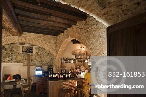 Restaurant, Genova, Genoa, Liguria, Italy, Europe