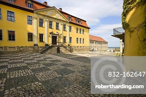 Ballenstedt Castle, Harz district, Saxony-Anhalt, Germany, Europe