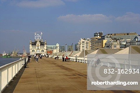 Jordaens quay, Antwerp, Flanders, Belgium, Europe