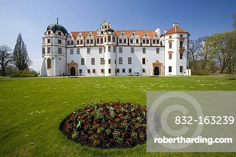 The castle in Celle, Lower Saxony, Germany, Europe