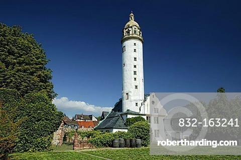 Hoechster Schloss Renaissance castle of the archbishops of Mainz, Frankfurt, Hoechst district, Hesse, Germany, Europe