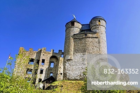 Greifenstein Castle, Hesse, Germany, Europe