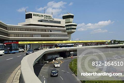 Otto Lilienthal Airport, Tegel Airport, Berlin-Tegel, Berlin, Germany, Europe