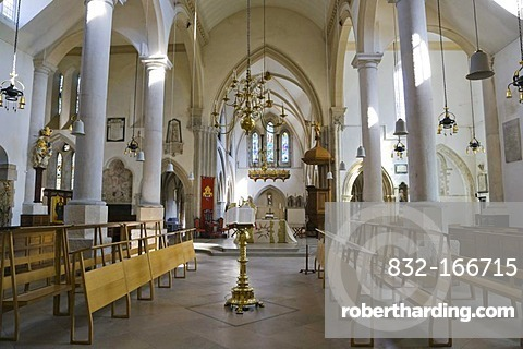 Portsmouth Cathedral interior, High Street, Portsmouth, Hampshire, England, United Kingdom, Europe