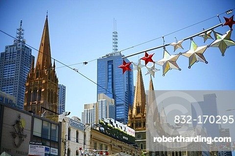 Christmas decorations in Melbourne, Victoria, Australia