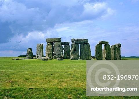 Stonehenge, Salisbury Plain, Wiltshire, England, Great Britain, Europe