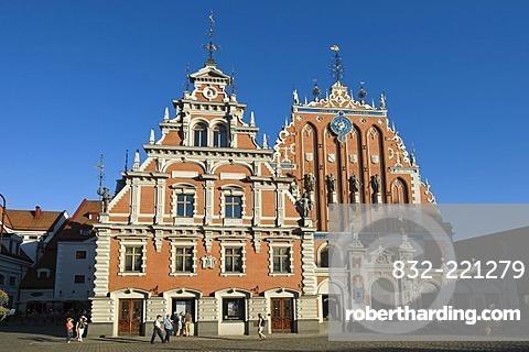House of the Blackheads, Riga, Latvia, Baltic States, PublicGround