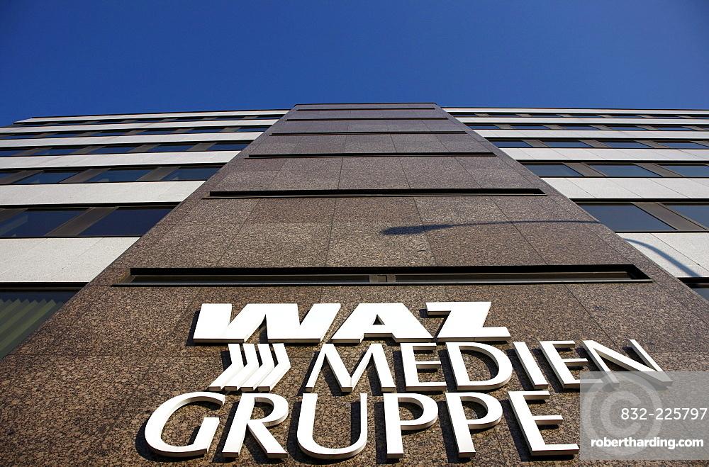 Publishing house of the WAZ media group, Essen, North Rhine-Westphalia, Germany, Europe